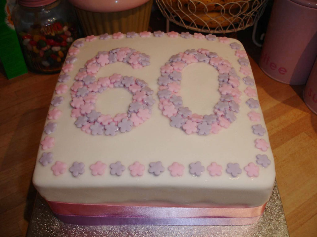 how to make a 60th birthday cake