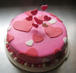 1024x894px Chic And Trendy Valentines Cake Picture in Valentine Cakes