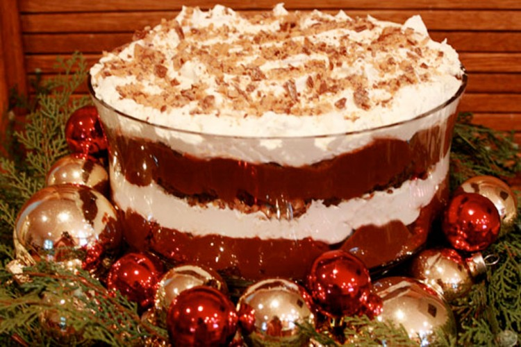Chocolate Brownie Triffle Picture in Chocolate Cake