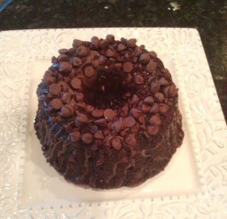 1024x1365px Chocolate Chip Fudge Bundt Cake Picture in Chocolate Cake