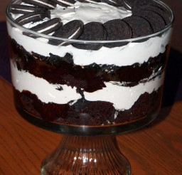 1024x1226px Chocolate Christmas Dessert With Oreo Picture in Chocolate Cake