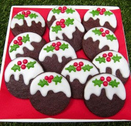 1024x861px Chocolate Christmas Pudding Cookies Picture in Chocolate Cake