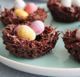 1024x683px Chocolate Easter Nests Picture in Chocolate Cake