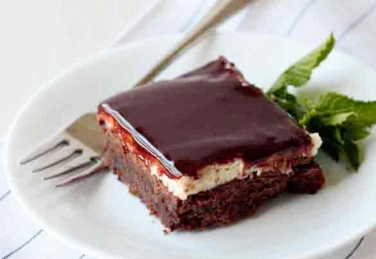 Chocolate Mint Bars Picture in Chocolate Cake