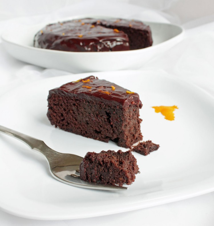 Chocolate Orange Garbanzo Bean Cake Gluten Free Picture in Chocolate Cake