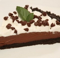 1024x655px Chocolate Pudding Cream Pie Picture in Chocolate Cake