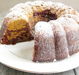 1024x722px Chocolate Pumpkin Bundt Cake Picture in Chocolate Cake