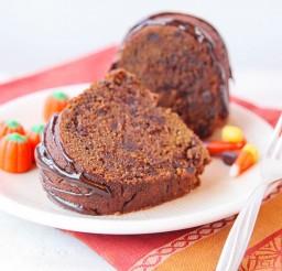 1024x682px Chocolate Pumpkin Bundt Picture in Chocolate Cake