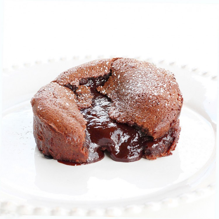 Chocolate Souffle Lava Cake Picture in Chocolate Cake