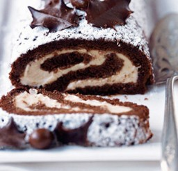 1024x666px Chocolate Chestnut Roulade Picture in Chocolate Cake
