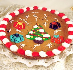 1024x915px Christmas Tree Chocolate Chip Cookie Cake Picture in Chocolate Cake