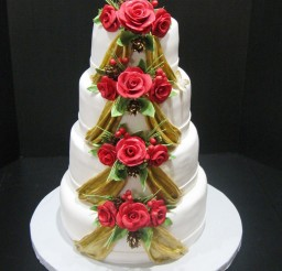 1024x1330px Christmas Wedding Cakes Idea 9 Picture in Wedding Cake