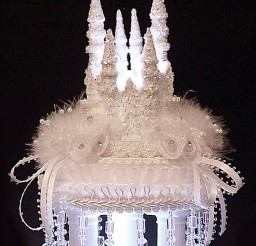 1024x1369px Cinderela Castle Coach Wedding Cake Picture in Wedding Cake