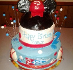 1024x1365px Coolest Homemade Mickey Mouse Birthday Cakes Picture in Birthday Cake
