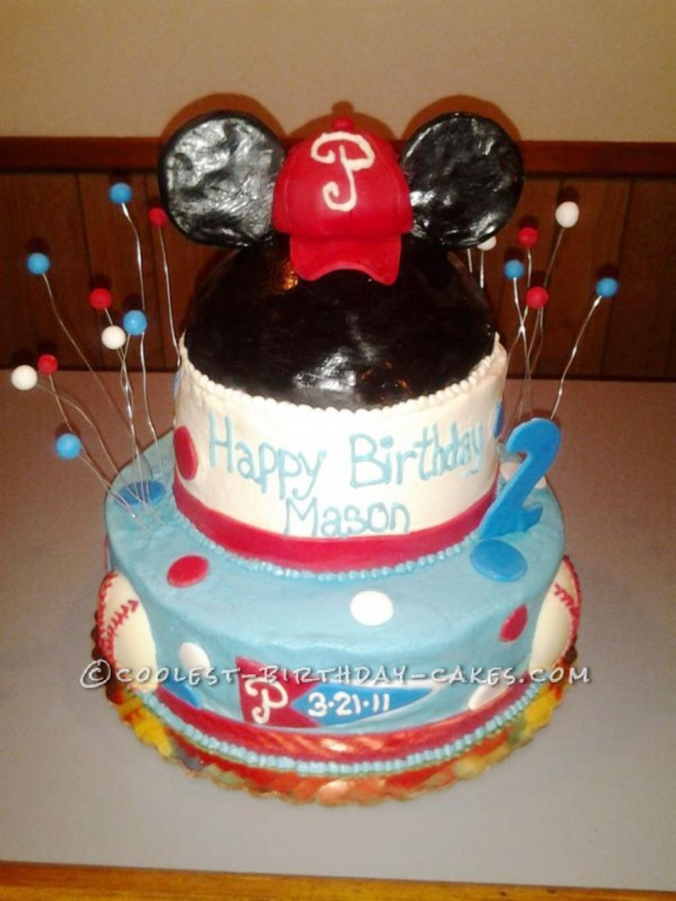 Coolest Homemade Mickey Mouse Birthday Cakes Picture in Birthday Cake