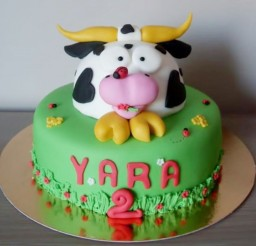 1024x953px Cow Birthday Cakes Picture in Birthday Cake