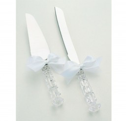 1024x894px Crystal Wedding Cake Knife Server Set Picture in Wedding Cake