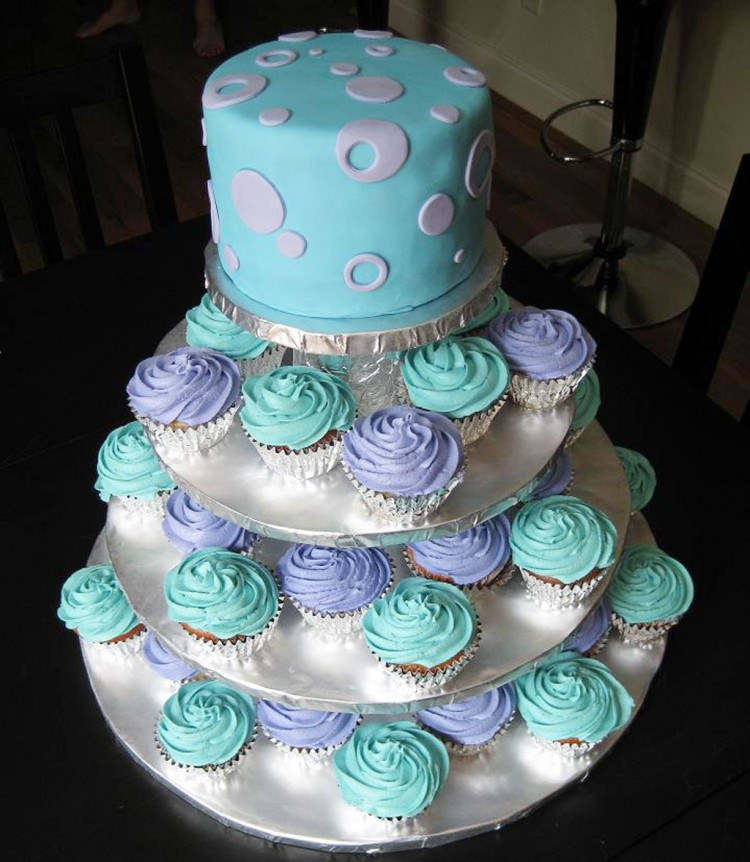 Cupcake Wedding Cakes Photos Picture in Wedding Cake