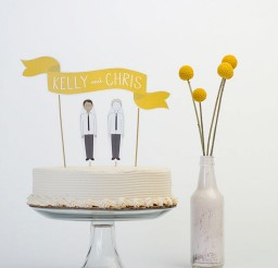 1024x1281px Custom Modern Wedding Cake Toppers Picture in Wedding Cake