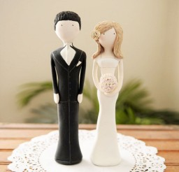 1024x1024px Custom Unique Wedding Cake Topper Picture in Wedding Cake