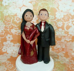 1024x769px Customized Ethnic Wedding Cake Topper Picture in Wedding Cake