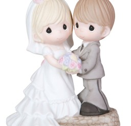 1024x1179px Cute Precious Moment Wedding Cake Topper Picture in Wedding Cake