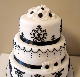 1024x1535px Damask Wedding Cake Picture in Wedding Cake
