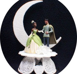 1024x1132px Disney Princess Tiana Wedding Cake Topper Picture in Wedding Cake