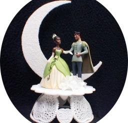 1024x1132px Disney Princess Tiana Wedding Cake Topper Picture in Wedding Cake
