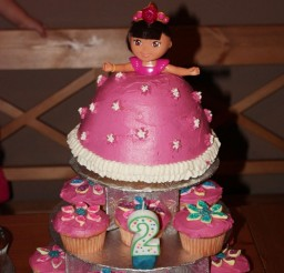 1024x1536px Dora Doll Birthday Cakes Picture in Birthday Cake