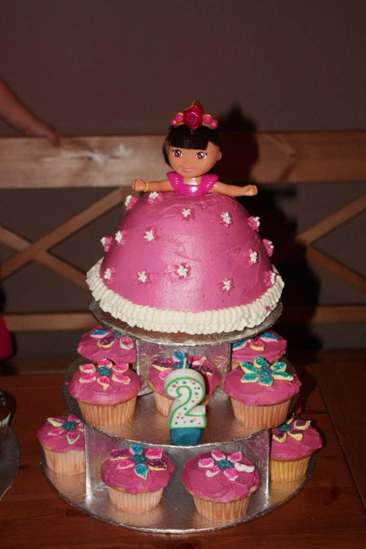 Dora Doll Birthday Cakes Picture in Birthday Cake