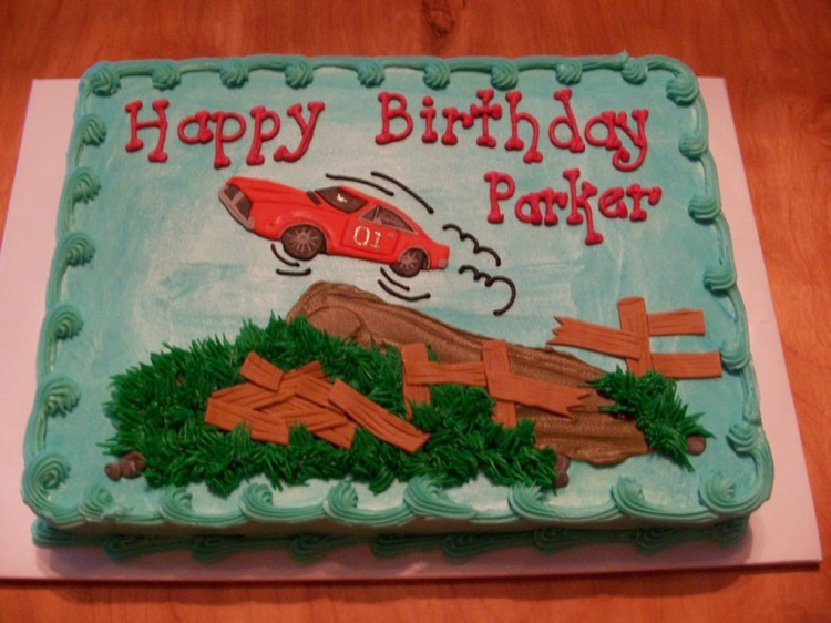 Dukes Of Hazzard Birthday Cakes For Kids Picture in Birthday Cake
