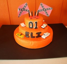1024x768px Dukes Of Hazzard Birthday Cake Designs Picture in Birthday Cake