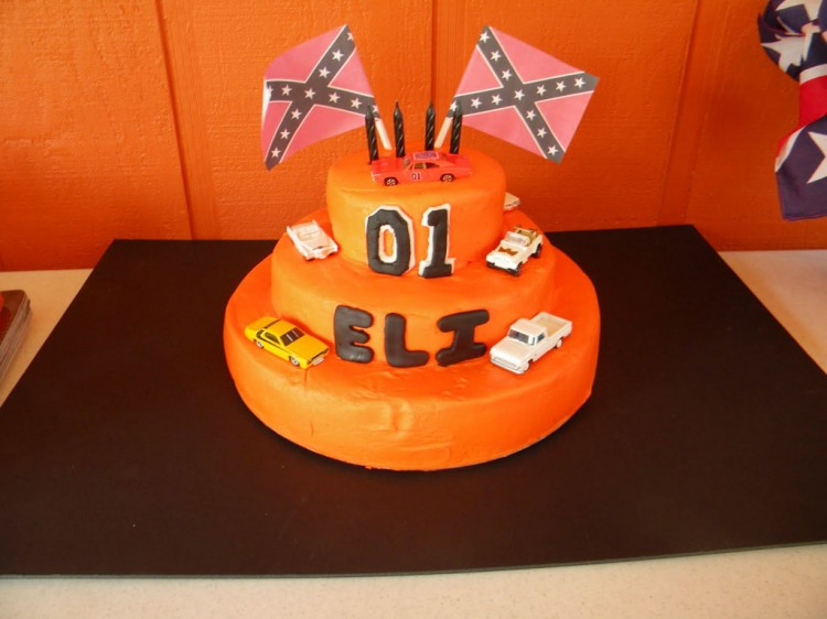 Dukes Of Hazzard Birthday Cake Designs Picture in Birthday Cake