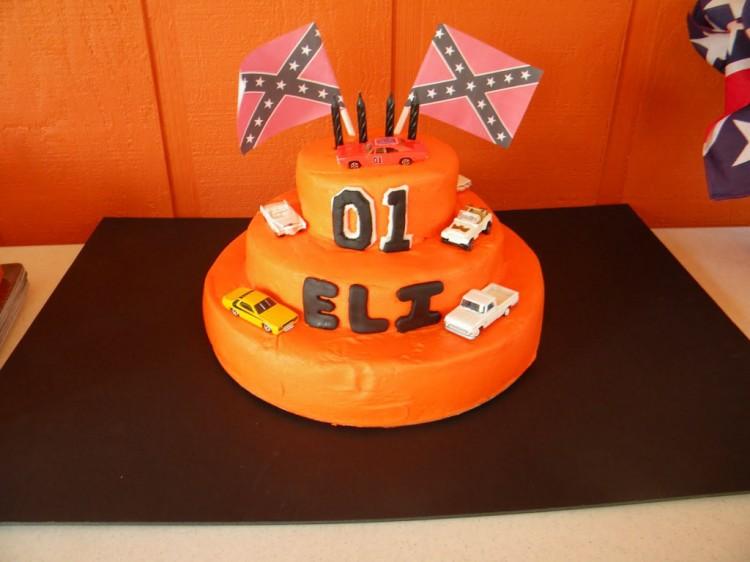 Dukes Of Hazzard Birthday Cake Designs Picture in Birthday Cake