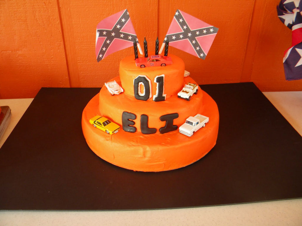 Dukes Of Hazzard Birthday Cake Designs Picture In