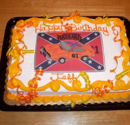 1024x771px Dukes Of Hazzard Dirthday Cake Picture in Birthday Cake