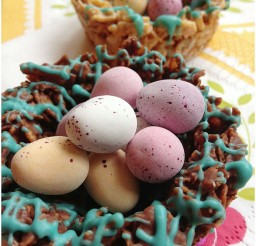 1024x1362px Easy To Make Crunchy Chocolate Easter Nests Picture in Chocolate Cake