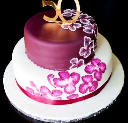 1024x1536px Elegant 50th Birthday Cake Ideas Picture in Birthday Cake