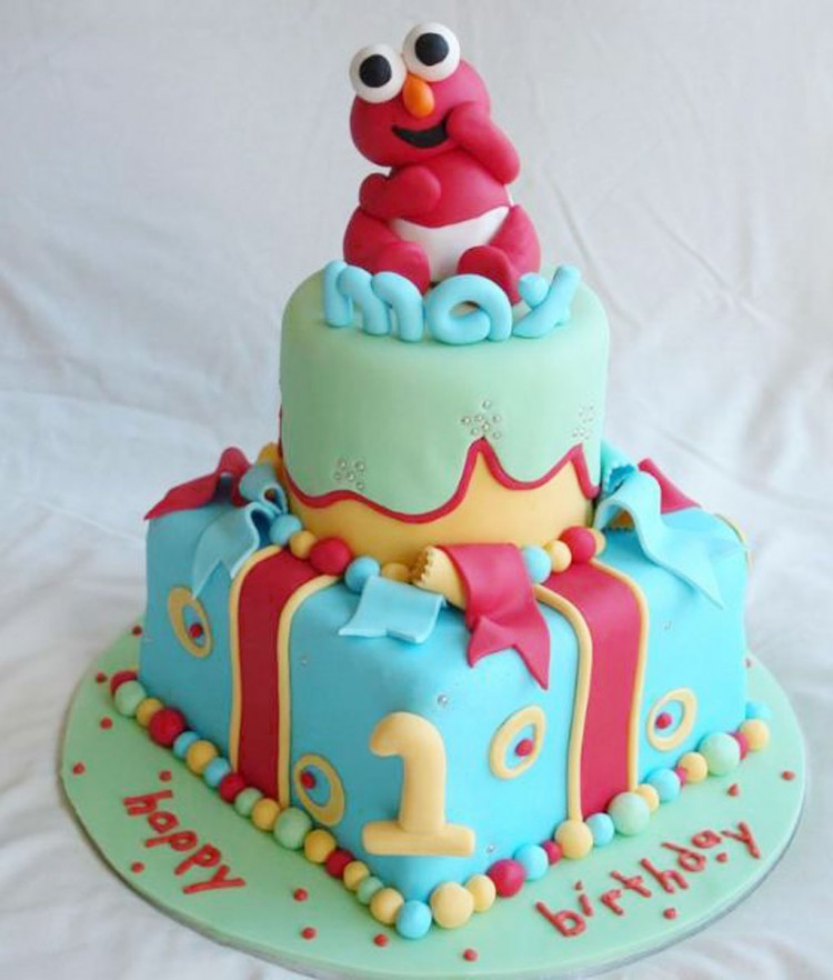 Elmo Birthday Cakes Design 1 Picture in Birthday Cake