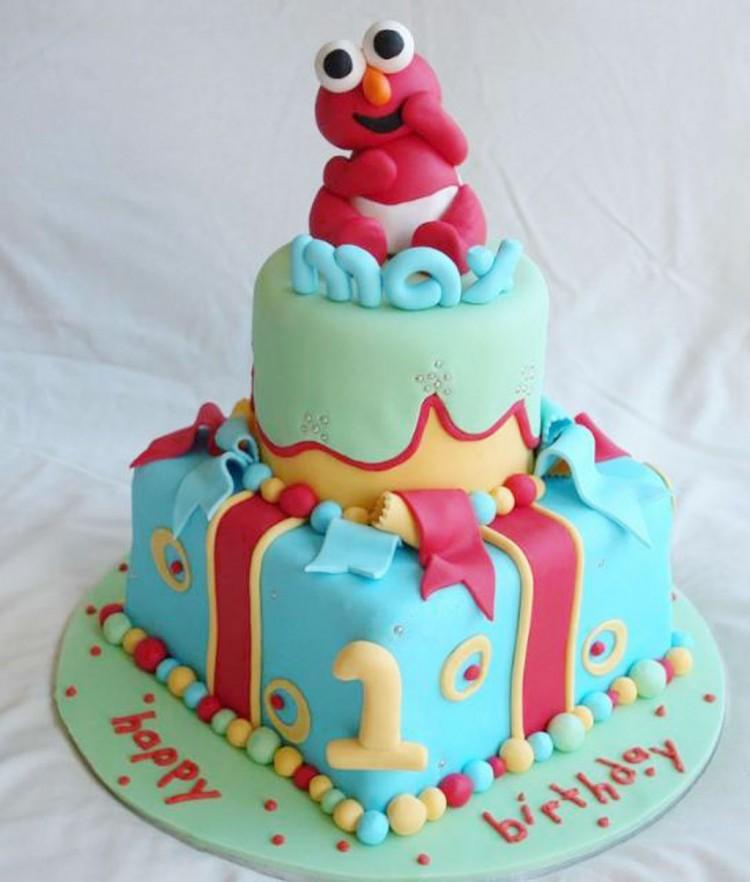 Elmo Birthday Cakes Design 1 Picture in Birthday Cake
