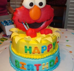 1024x1365px Elmo Birthday Cakes Design 2 Picture in Birthday Cake