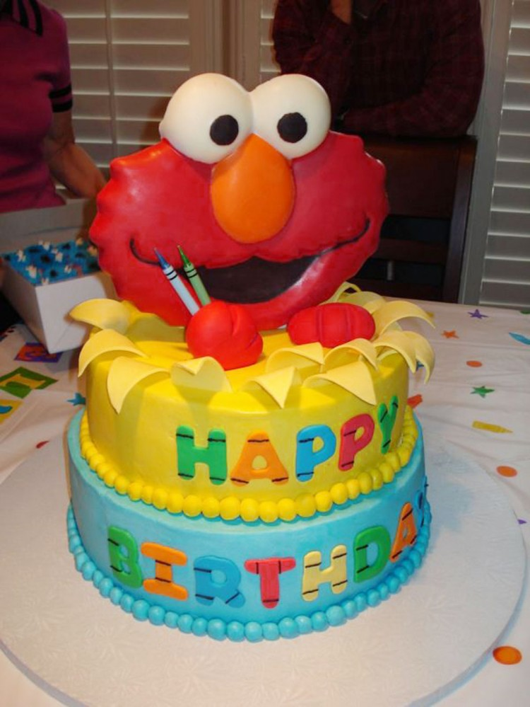 Elmo Birthday Cakes Design 2 Birthday Cake - Cake Ideas by ...