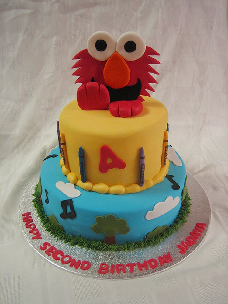 Elmo Birthday Cakes Design 3 Picture in Birthday Cake