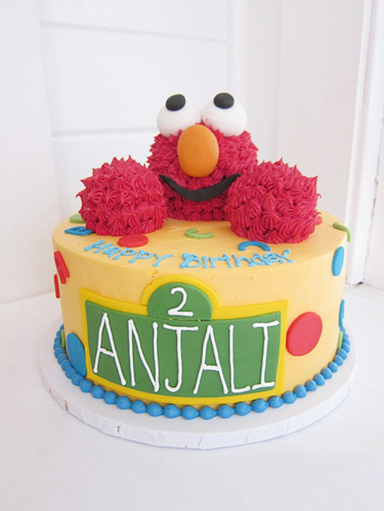 Elmo Birthday Cakes Design 4 Picture in Birthday Cake