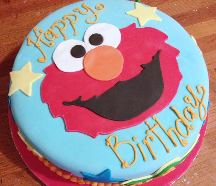 Elmo Birthday Cakes Design 5 Picture in Birthday Cake
