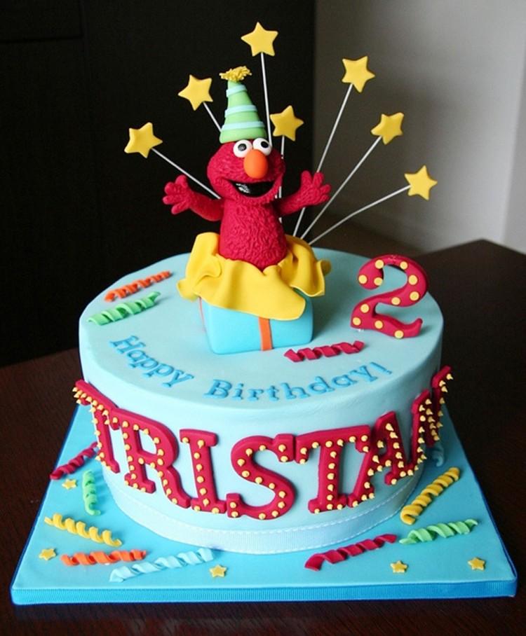 Elmo Birthday Cakes Design 6 Picture in Birthday Cake