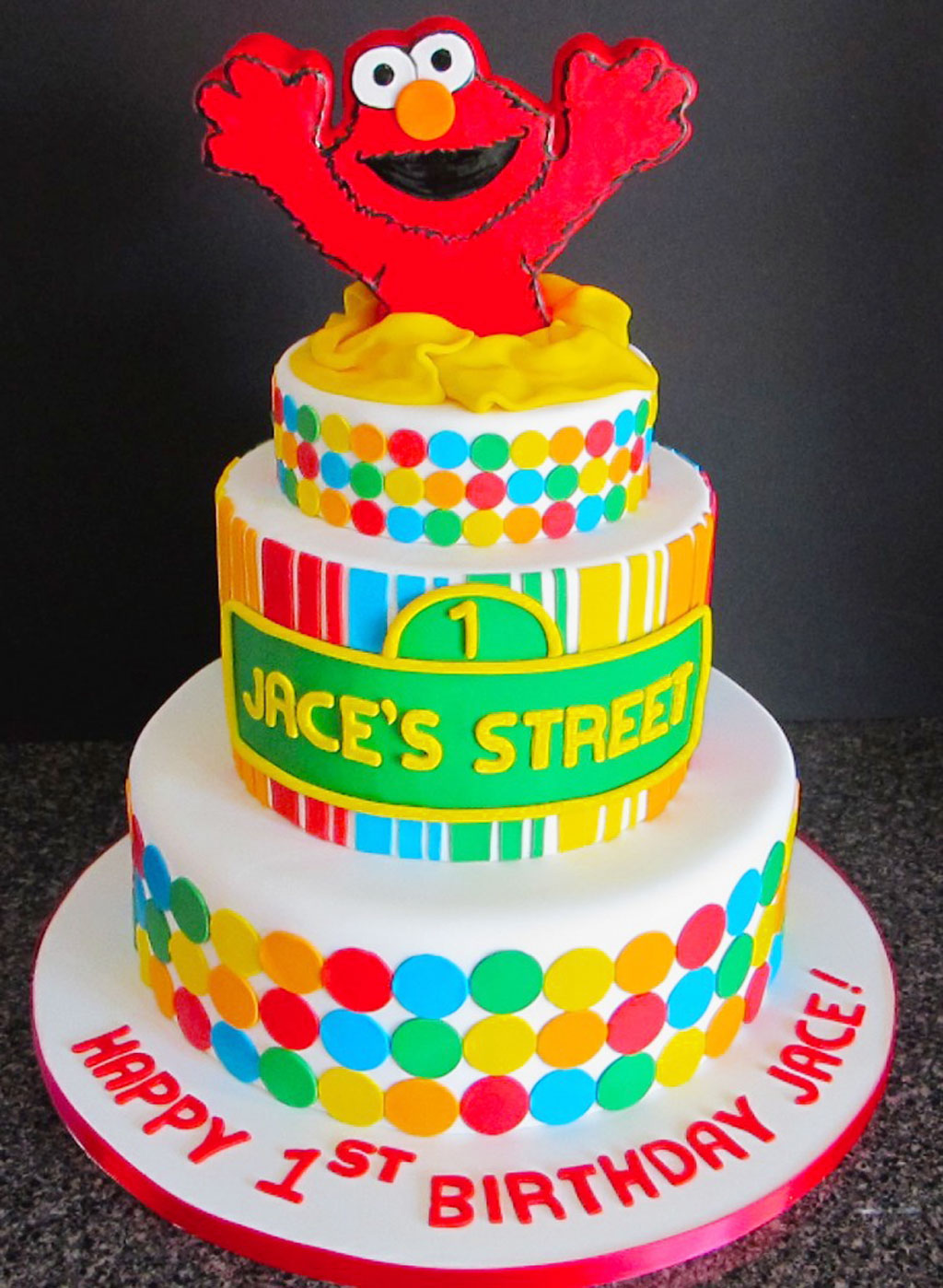 Elmo Design Birthday Cake : Elmo Birthday Cakes Design 7 Birthday Cake - Cake Ideas by ...