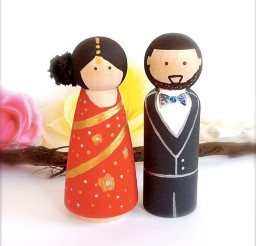 1024x1092px Ethnic Wedding Cake Toppers Indian Picture in Wedding Cake