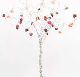 1024x1536px Fall Wedding Cake Topper Tree Custom Picture in Wedding Cake